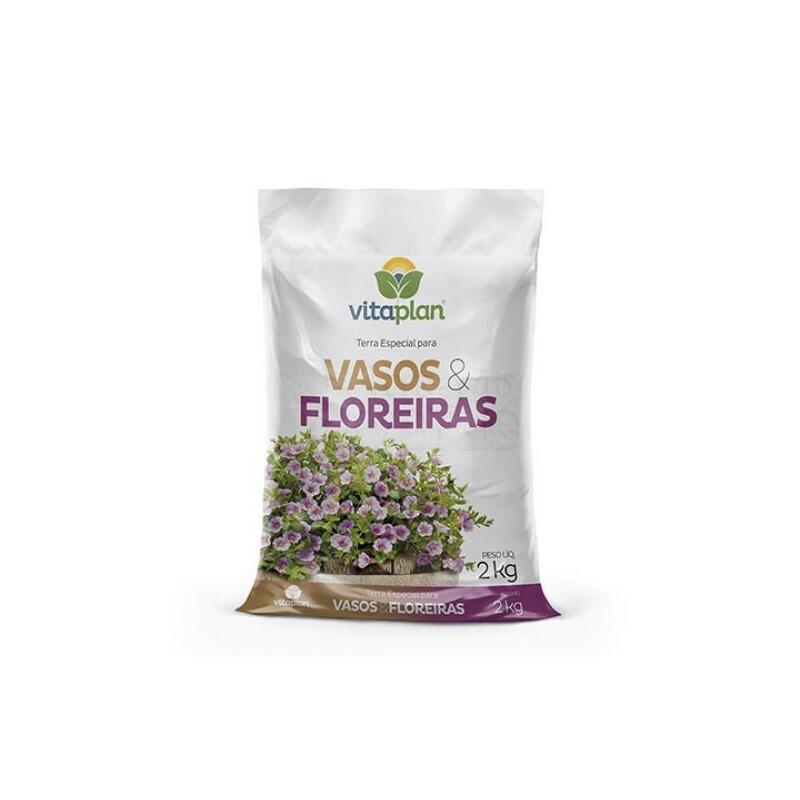 Substrato para Vasos e Floreiras