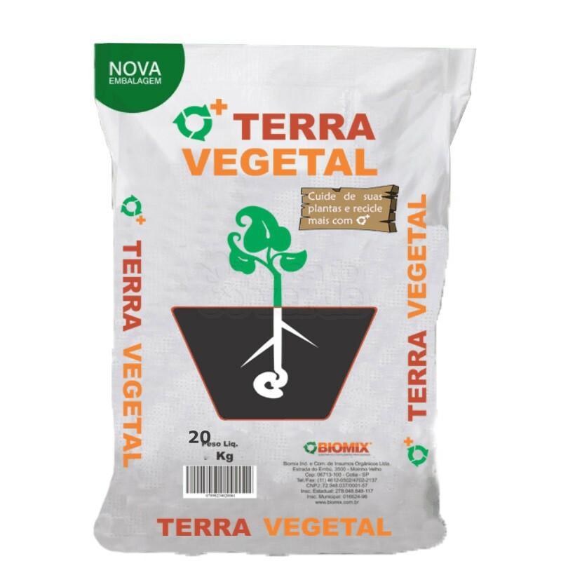 Terra Vegetal com componentes controlados