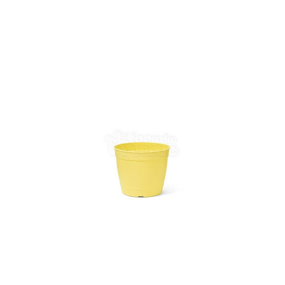 Mini Vaso Aquarela - 6,2 ALT X 6,0 DIAM - 200 ML - Cor Amarelo Claro