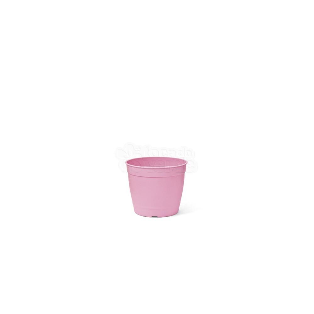 Mini Vaso Aquarela - 6,2 ALT X 6,0 DIAM - 200 ML - Cor Rosa Bebê