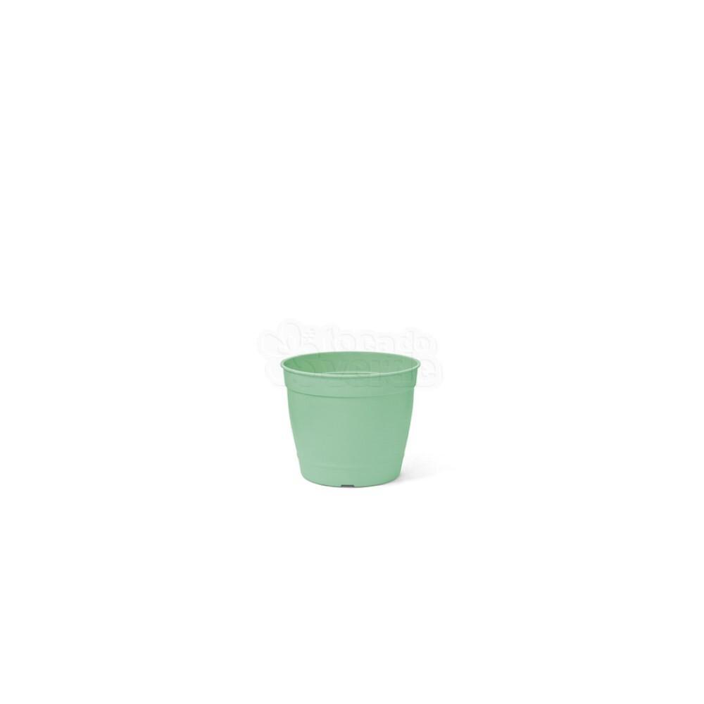 Mini Vaso Aquarela - 6,2 ALT X 6,0 DIAM - 200 ML - Cor Verde Claro