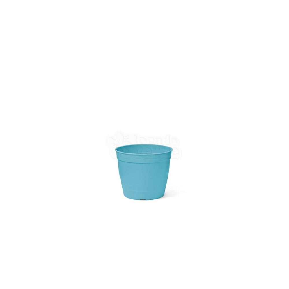 Mini Vaso Aquarela - 6,2 ALT X 6,0 DIAM - 200 ML - Cor Azul Tiffany