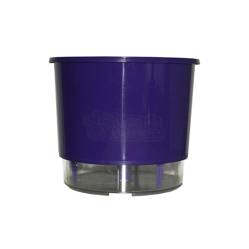 Vaso Autoirrigável Pequeno - Roxo (T213)