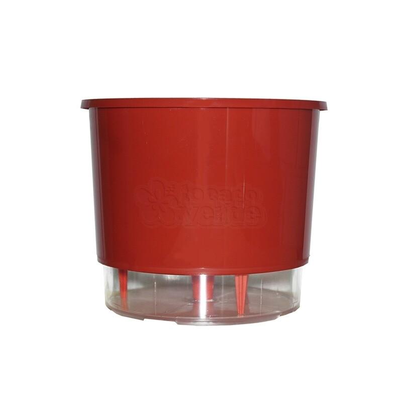 Vaso Autoirrigável Médio - Vermelho (T310)