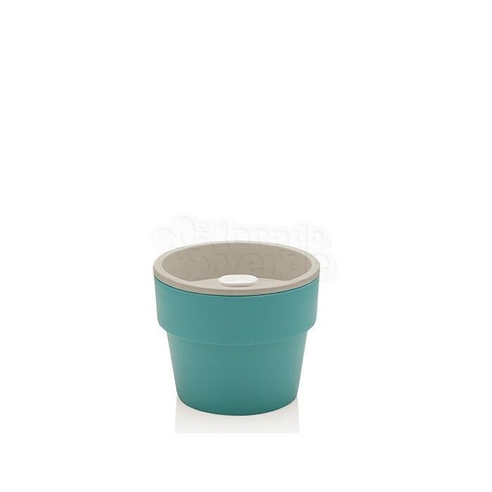 Vaso Autoirrigável Pequeno - Linha Plantar - Azul