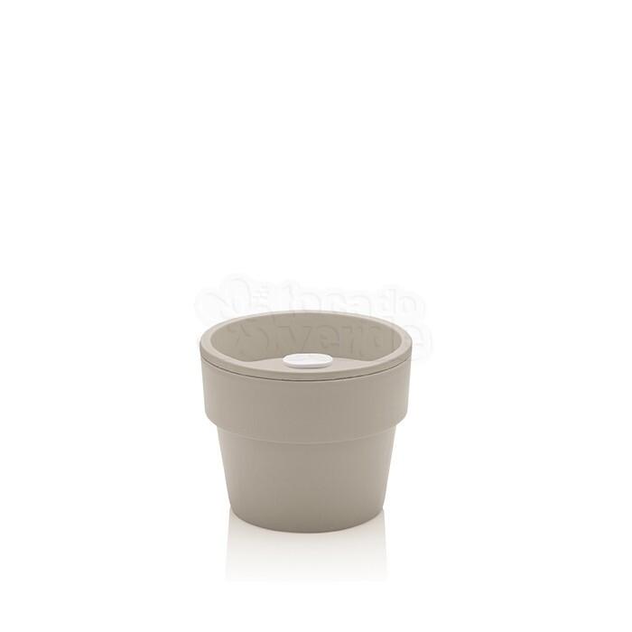 Vaso Autoirrigável Pequeno - Linha Plantar - Bege