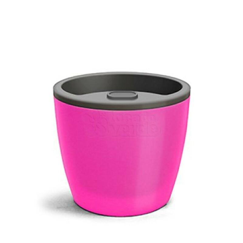 Vaso Autoirrigável Elegance N04 - 23,2x25,4 - 8 Litros - Cor Rosa
