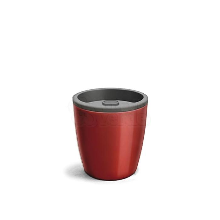 Vaso Autoirrigável 12,5x15,4 - Elegance - Cor Vinho