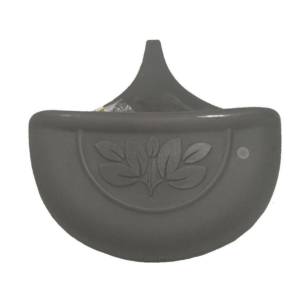 Vaso de Parede Autoirrigável - 5 L - Cor Cinza Chumbo