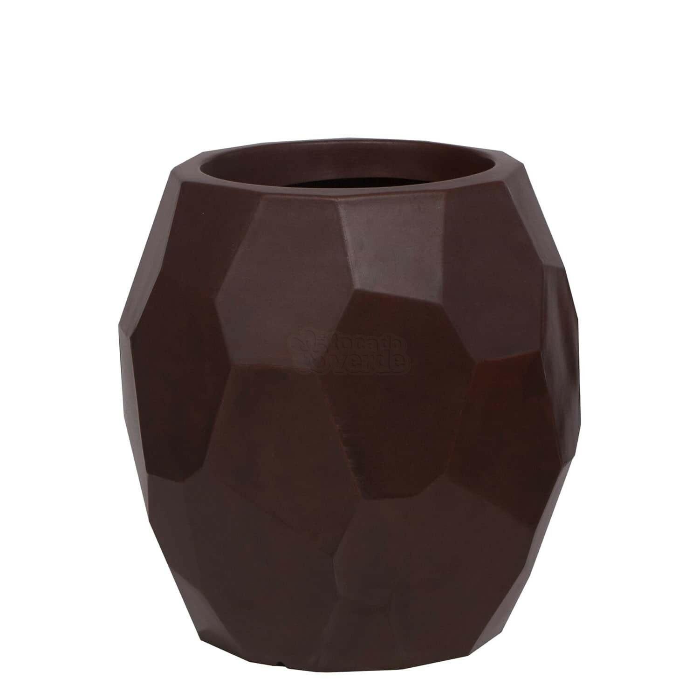 Vaso Geo 30 x 40 cm - Cor Rusty - Vasart