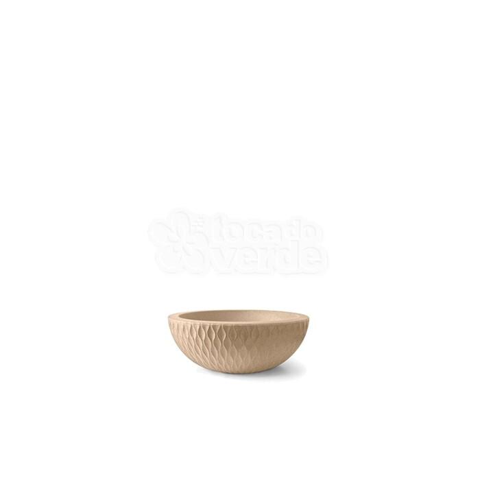 Vaso Infinity Concha N09 - 9x24,7 cm - 2 L - Areia