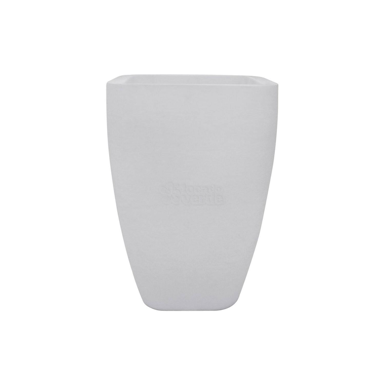 Cachepô Iluminado - Vaso Innovare Luminosità Branco 54cm