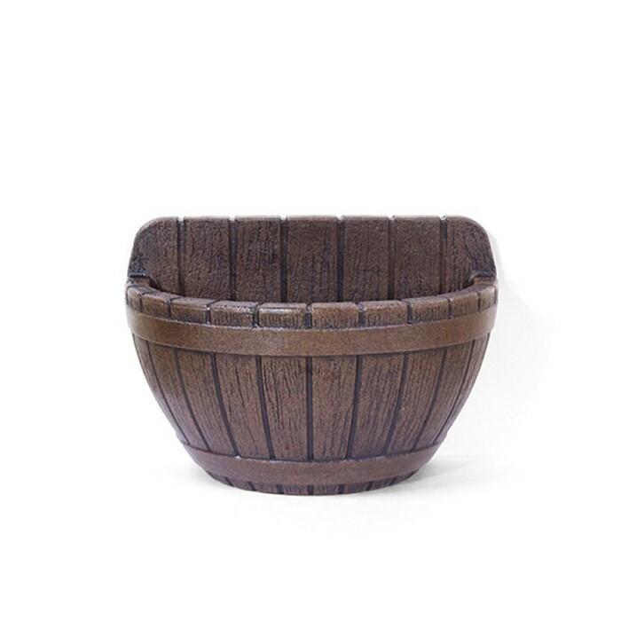 Vaso de Parede Tina N42 Carvalho