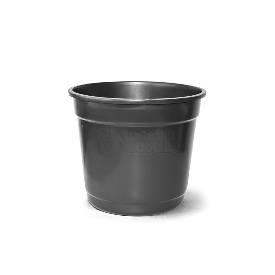 Vaso Plástico N07 - 21,5 Litros - Cor Preta
