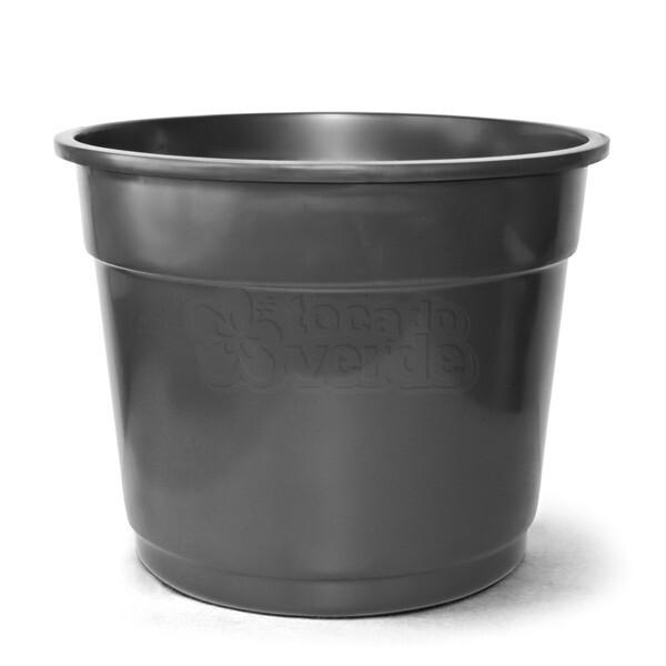 Vaso Plástico N08 - 42,5 Litros - Cor Preta