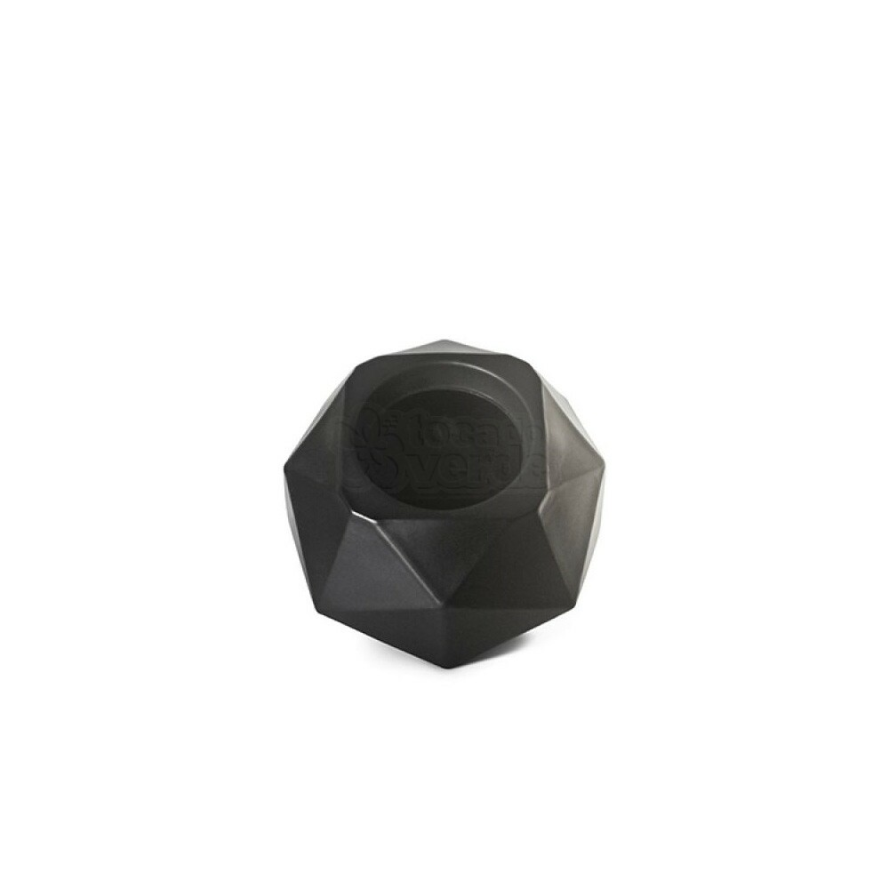 Vaso Quartzo N11 - 11,3x15 cm - 850ml - Cor Preto