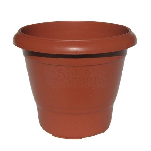 Vaso Terracota - N02 - Alt 25 cm - Cor Cerâmica