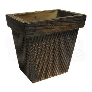Vaso de Parede - Tabaco -  18,5 cm - 2,6 L - Médio L1027