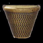 Vaso de Parede - Tabaco - 22cm - 3 L - Grande L1107
