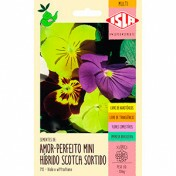 Amor-perfeito Mini Híbrido Scotch Sortido 0,05g (Ref 715)