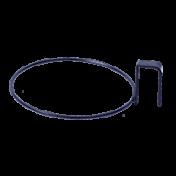 Suporte Argola de Treliça para Vaso Autoirrigável Pequeno (T2) - Cor Preto