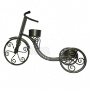 Bicicleta Ferro - cachepô para plantas - 80x35x55cm