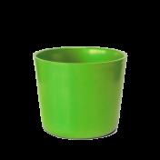Cachepô Redondo Elegance N02 - 1 L - Cor Verde Limão