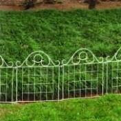Cerca Jardim Firenze 40 cm - Metal Branca