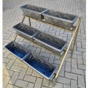 Suporte de Ferro - Escada para Vasos - 82,5 alt x 104 x 67 cm