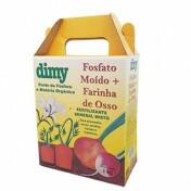 Fosfato Moído de Rocha +Farinha de Ossos Dimy 1kg