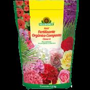 Fertilizante Azet Orgânico Composto Classe A - 2,5 kg