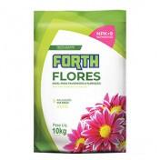 Forth Flores Fertilizante NPK 06-18-12 + 9 Nutrientes - 10kg