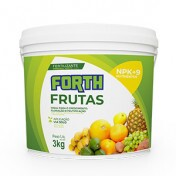 Forth Frutas Fertilizante - NPK 12-05-15 + 9 Nutrientes - 3 kg