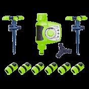 Kit Irrigação automatizada com Temporizador eletrônico - 13612- Ecoforce