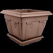 Floreira Romana - N2,5 - Larg 46 - Alt 28,7 cm - Cor Tabaco