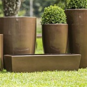 Jardineira Fibra de Vidro - 18 alt x 100x24 cm - N112 Diversas Cores - Rotogarden