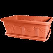 Jardineira 85 cm - Floreira Grande - 82,8 L - Cor Cerâmica
