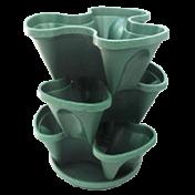Jardineira Vertical -  PlastGarden - Verde WPC