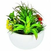 Vaso em Cerâmica com Arranjo Artificial - KF0002