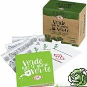 Kit de Sementes - Verde Que Te Quero Ver Te (Alface, Couve e Rúcula)