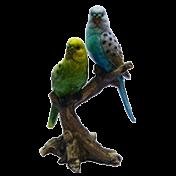 Pássaros Decorativos em Cerâmica 12x09x20 cm - KY0028