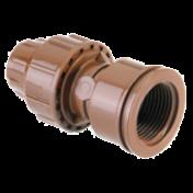 Conexão 16/16 mm fêmea porca  - 1224 - Elgo