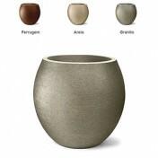 Vaso Oval Grafiato N58 - 58x51 cm - 144 Litros