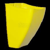 Cachepô de Parede PlastFit - Amarelo