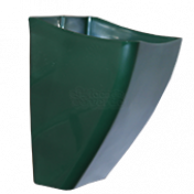 Cachepô de Parede PlastFit - Verde Escuro