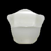 Cachepô 15 - Branco Perolado - PlastPot