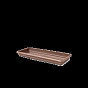 Prato para Jardineira 35 cm - Cor Tabaco