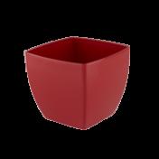 Vaso Siena 20 cm - Vermelho - Vasart