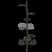 Suporte para plantas Ferro 5 vasos - 105 cm alt - SPV1