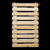Painel Vertical - Treliça Ripada - 100 alt x 60 cm
